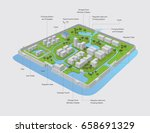 flood info graphic | Shutterstock .eps vector #658691329