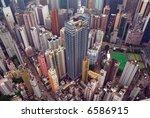 Looking Down On Wan Chai Hong...