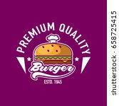 burger logo | Shutterstock .eps vector #658725415
