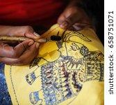 anuranhapura  sri lanka   circa ... | Shutterstock . vector #658751071