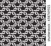 monochrome seamless pattern of...   Shutterstock .eps vector #658769521