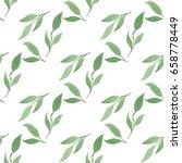 seamless pattern made of hand... | Shutterstock . vector #658778449