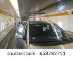 Car In Channel Tunnel Train...