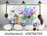 creative and analytical... | Shutterstock . vector #658786705