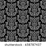 seamless damask pattern   Shutterstock .eps vector #658787437