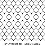 arabic islamic seamless pattern.... | Shutterstock .eps vector #658796089