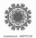 mandala. | Shutterstock .eps vector #658797139
