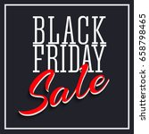sale poster with frame and... | Shutterstock . vector #658798465