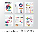modern business presentation... | Shutterstock .eps vector #658799629
