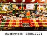 barcelona  spain   august 05 ... | Shutterstock . vector #658811221