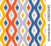 seamless geometric pattern ... | Shutterstock .eps vector #658833685
