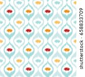 seamless geometric pattern ... | Shutterstock .eps vector #658833709