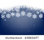 winter background with...   Shutterstock .eps vector #65883697