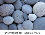 Abstract Smooth Round Pebbles...