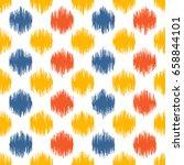 seamless geometric pattern ... | Shutterstock .eps vector #658844101