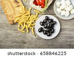 healthy comfort food ... | Shutterstock . vector #658846225