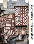 Typical French Timbered House....