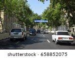 baku  azerbaijan   may 09  2017.... | Shutterstock . vector #658852075