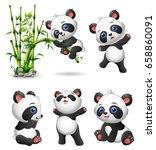 vector illustration of cute...   Shutterstock .eps vector #658860091