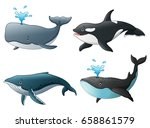 vector illustration of set of... | Shutterstock .eps vector #658861579