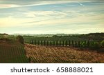 panorama of the hills of san... | Shutterstock . vector #658888021