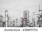industrial zone the equipment... | Shutterstock . vector #658895701