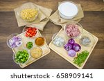 soya bean dipping sauce...   Shutterstock . vector #658909141