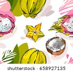 hand drawn vector abstract... | Shutterstock .eps vector #658927135