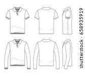 polo shirts with short and long ...