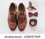 closeup of elegant stylish... | Shutterstock . vector #658937569