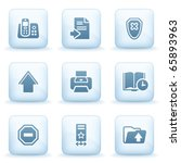 icons blue series 4 | Shutterstock .eps vector #65893963