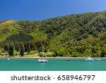 new zealand landscape | Shutterstock . vector #658946797