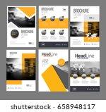 modern brochure design template ...   Shutterstock .eps vector #658948117