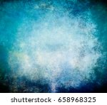 Abstract Blue Background Of...
