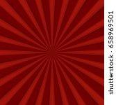 red comics radial speed lines... | Shutterstock .eps vector #658969501