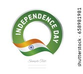 independence day india flag... | Shutterstock .eps vector #658981981