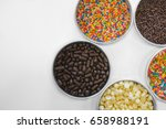 Top View Of Chocolate Chips ...