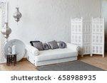 eastern traditional interior.... | Shutterstock . vector #658988935