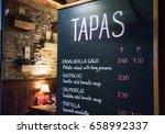 Tapas Bar In Spain. Spanish...