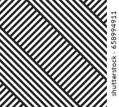 geometric striped diagonal... | Shutterstock .eps vector #658994911