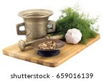 still life spices  bengal... | Shutterstock . vector #659016139
