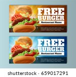 Free Burger Voucher Template