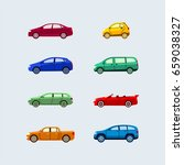 car classification   modern... | Shutterstock .eps vector #659038327