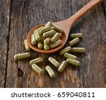 vegetables in a capsule | Shutterstock . vector #659040811