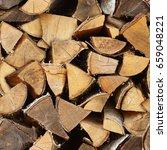 seamless texture   birch wood... | Shutterstock . vector #659048221