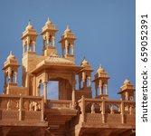 jaisalmer  rajasthan  india.... | Shutterstock . vector #659052391