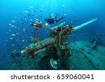 Ship Wreck In Tropical Sea ...