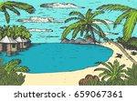 vector sketch illustration with ... | Shutterstock .eps vector #659067361