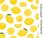 vector seamless pattern with... | Shutterstock .eps vector #659071015
