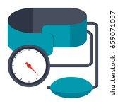 blood pressure kit vector... | Shutterstock .eps vector #659071057